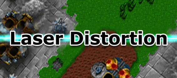 GameMaker Asset Banner Laser Distortion